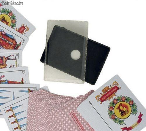Barajas de cartas, española y de poker