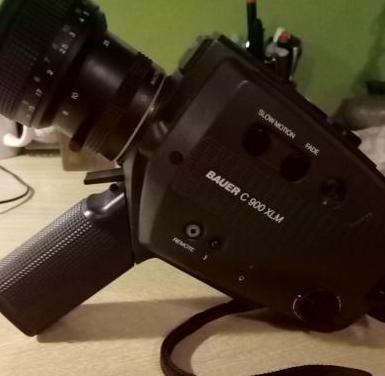 Camara bauer super 8mm c900 xlm