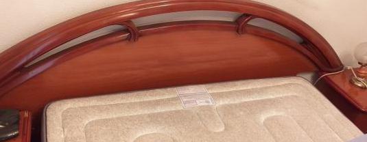 Cabecero de cama 210 cm en madera
