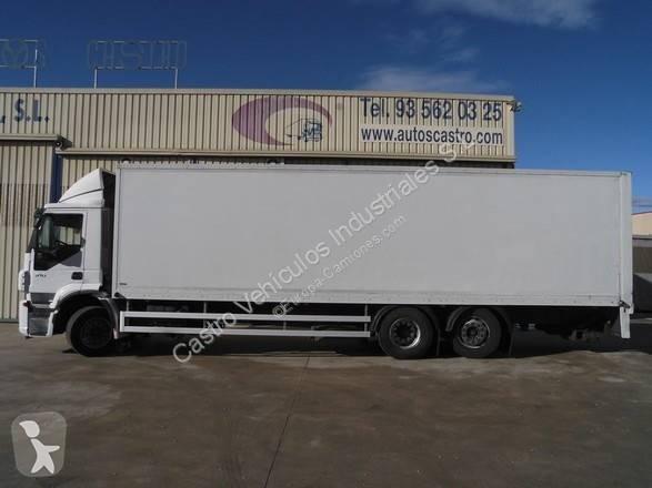 Camión Iveco furgón Stralis AD 260 S 31 6x2 Diesel Euro 5