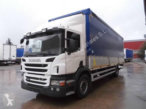 Camión Scania lona corredera (tautliner) P 280 4x2 Diesel