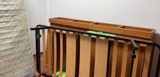 Estructura cama individual y auxiliar