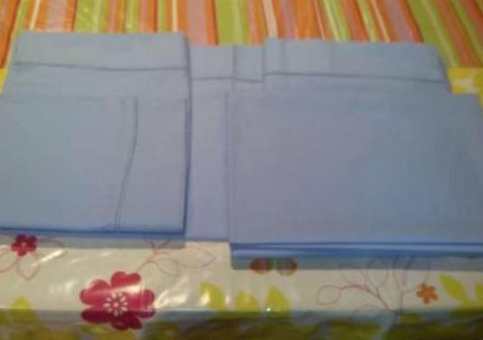 Juegos de sabanas azules cama 90 cm