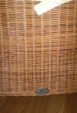 Mesa natuka,sillas de ratán