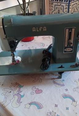 Máquina coser alfa de luxe 80