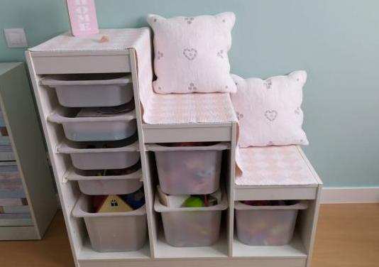 Mueble organizador juguetes