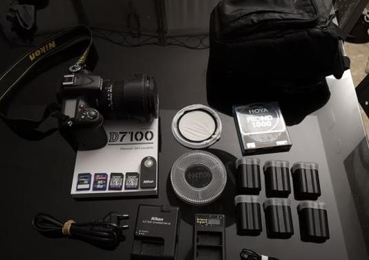 Nikon d7100 con accesorios