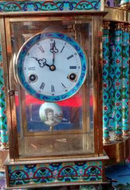 Reloj de péndulo chino antigüedad