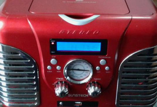 Sunstech radio/usb/cd/mp3
