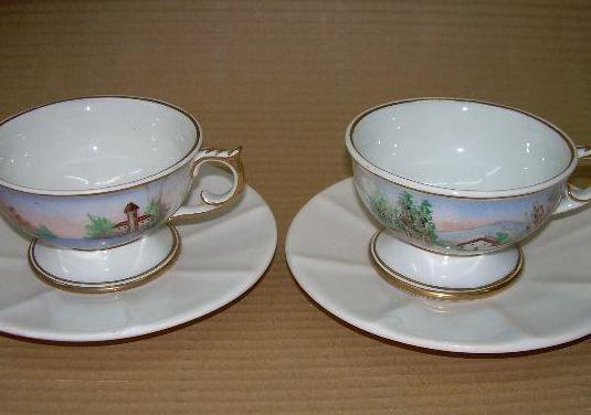 Tazas de te de cerámica