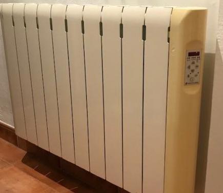 Tres radiadores (emisor térmico) haverland