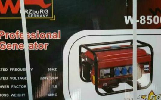Generador de luz 8.500 wattios