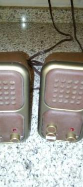 Interfono vintage funcionando