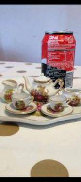 Juego café te miniatura vintage