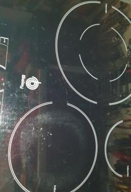 Placa vitro inducción balay