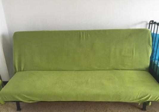 Sofá cama con colchón de 120x185