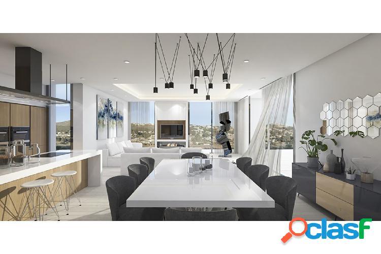 Proyecto de villa moderna en u 1