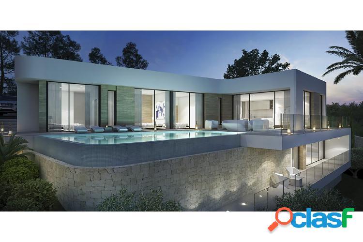 Proyecto de villa moderna en u 2