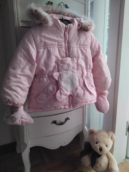 Abrigo niña dos años