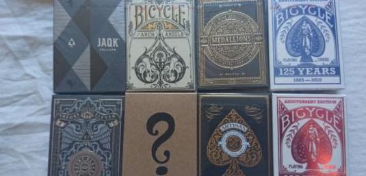 Barajas de cartas premium