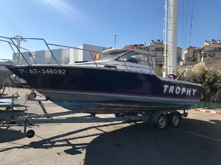 Barco bayliner trophy 6.5mts 225cv fueraborda