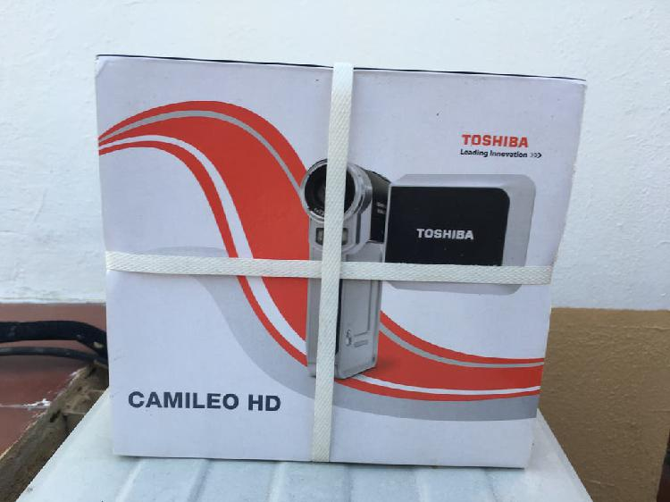 Camara de video toshiba hd camileo