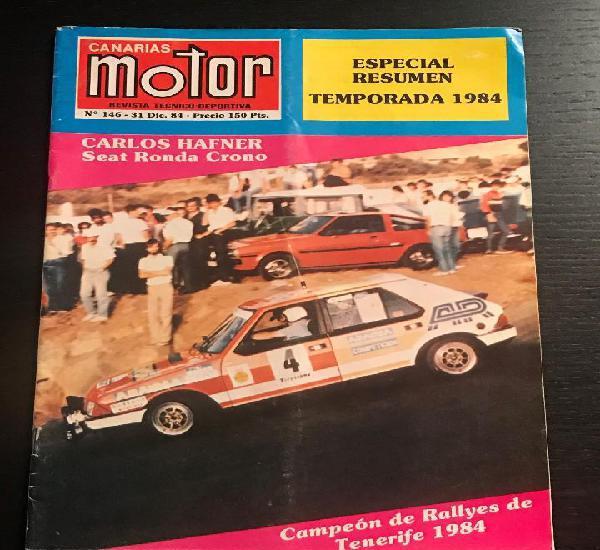 Canarias motor nº 146 - lancia s4 subida vilaflor rallye