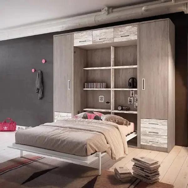 Composición con cama abatible matrimonio yb
