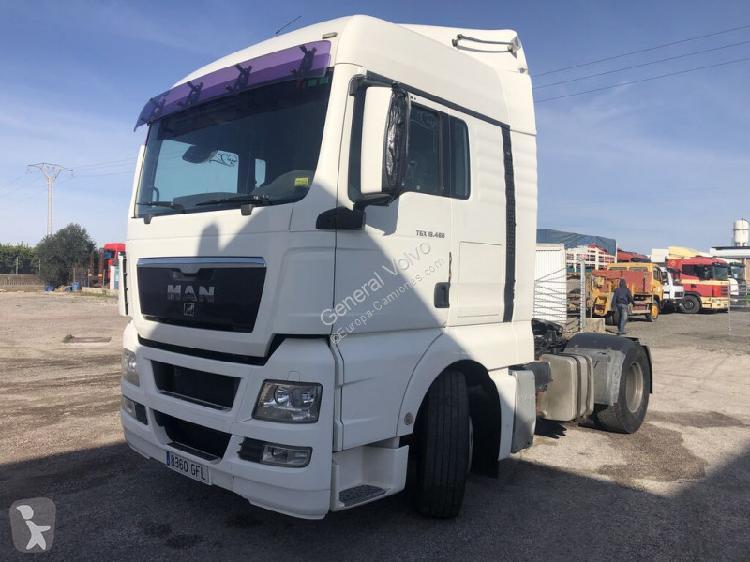 Cabeza tractora MAN TGX 18.480 Diesel Euro 4 usado