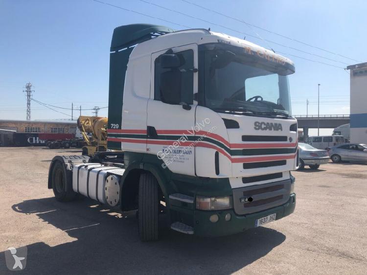 Cabeza tractora Scania R420 Diesel Euro 4 usado