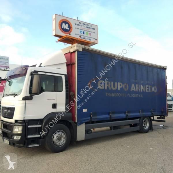 Camión man lona corredera (tautliner) tgs 4x2 diesel euro 4