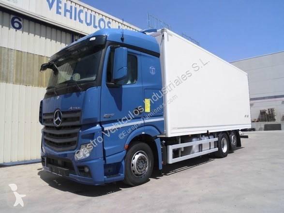 Camión Mercedes furgón Actros 2542 6x2 Diesel Euro 5 usado
