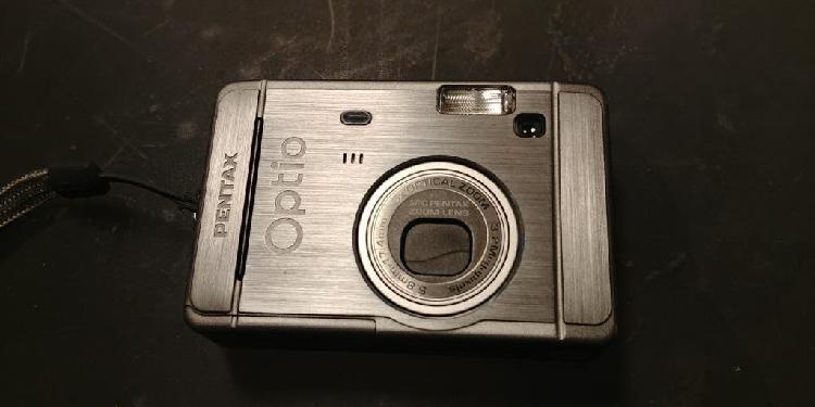 Cámara de fotos digital pentax optio s30