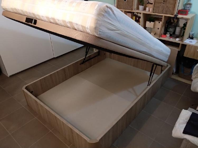 Colchón + canapé 135 x 190 cm