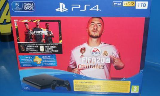 Consola playstation 4 slim 1 tera fifa 2020
