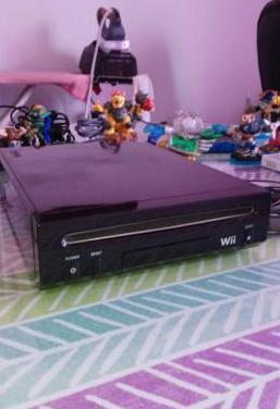 Consola wii con disco duro y todos sus accesorios