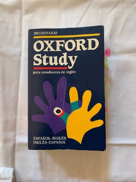 Diccionario oxford study