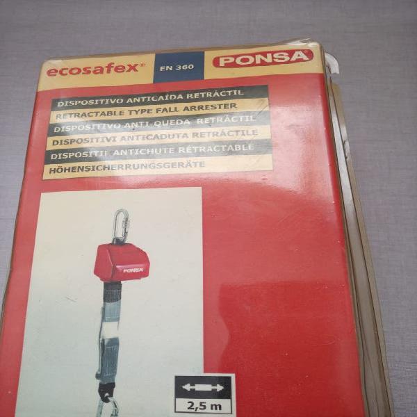 Dispositivo anticaida retráctil
