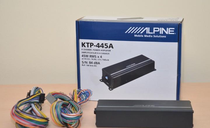 Etapa de potencia alpine ktp-445a - plug and play