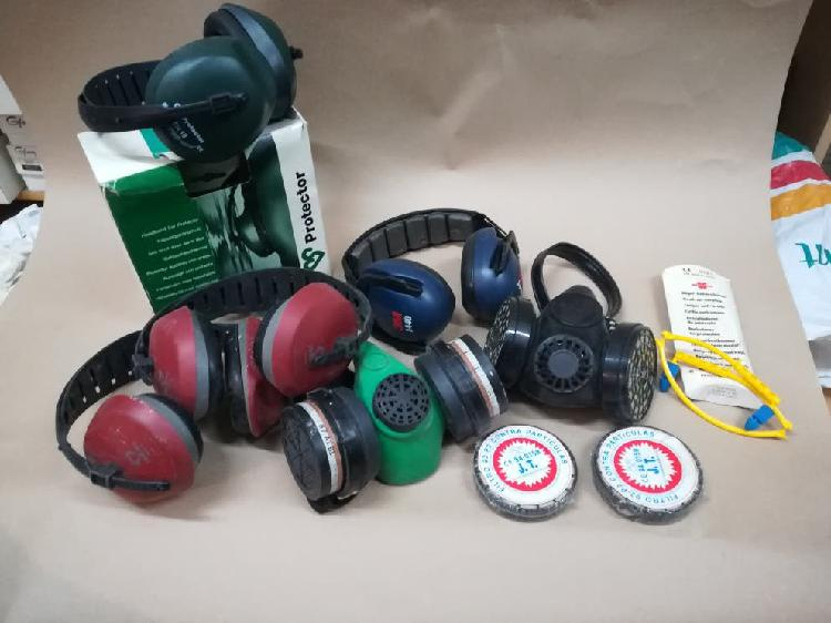 Equipos de proteccion auditiva y respiratoria