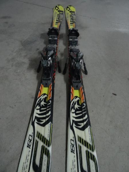 Esquis slalom, gama alta 160cm
