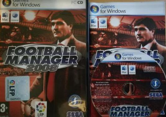 Football manager 2008 - juego pc