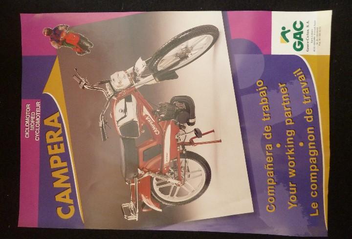G.a.c-folleto original caracteristicas tecnicas-ciclomotor