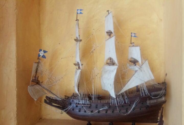 Galeón 100 cm impresionante maqueta