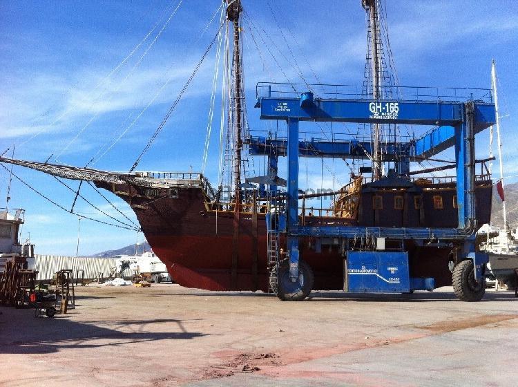 Galeon replica s xvii barco estilo pirata