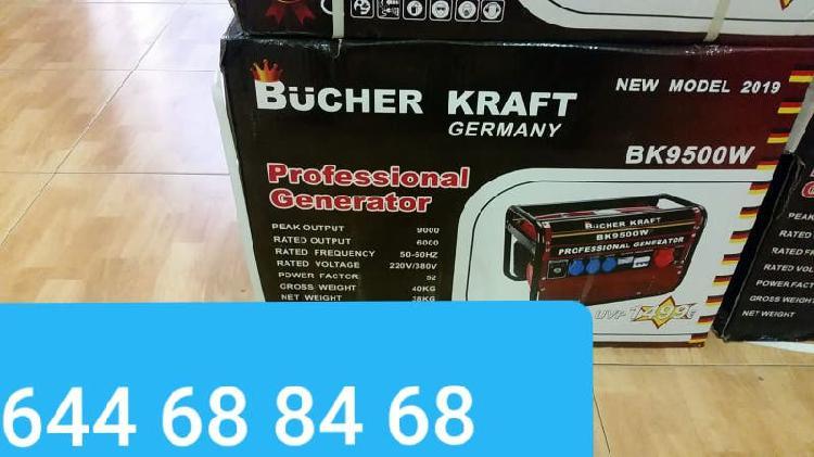 Generador de luz 9500 wattios nuevo precintado