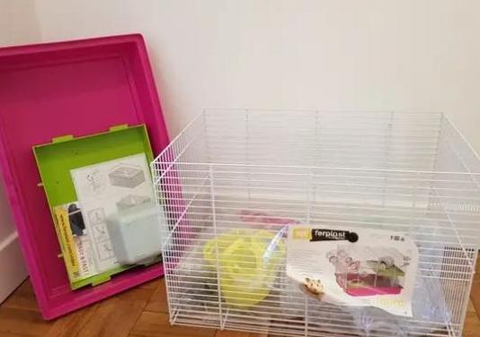 Jaula ferplast para pequeños roedores