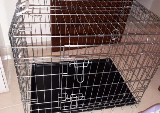 Jaula transporte para perro