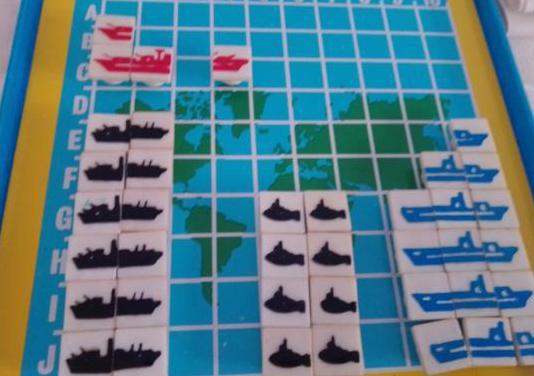Juego de los 80, batalla naval magnética