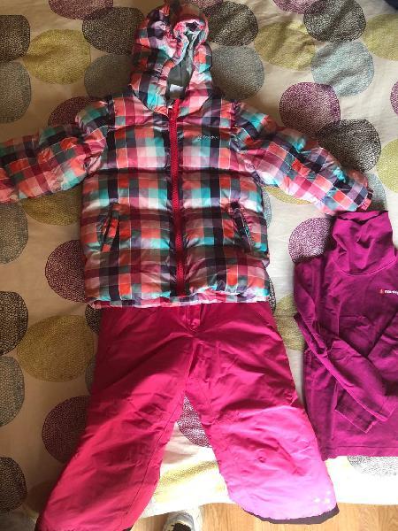 Kit ropa esquí niña talla 3/4